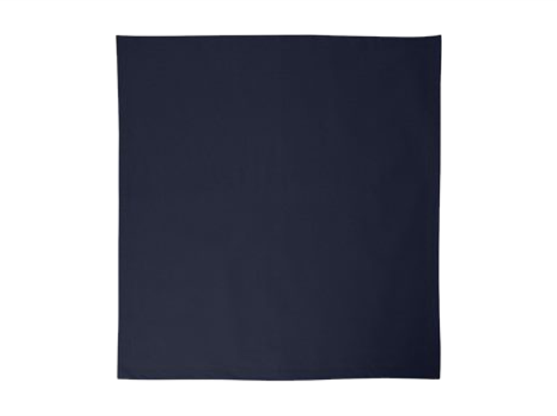 Monogrammed Fleece Stadium Throw Blankets (Navy Blue)
