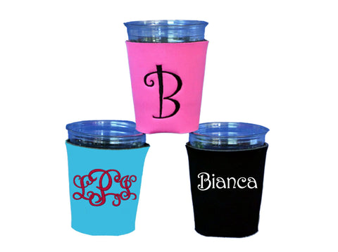 Personalized Party Cup Koolies