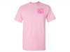 Monogrammed T-Shirts (Light Pink)