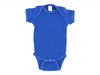 Personalized Infant One Piece Creeper for Boys (Royal Blue)