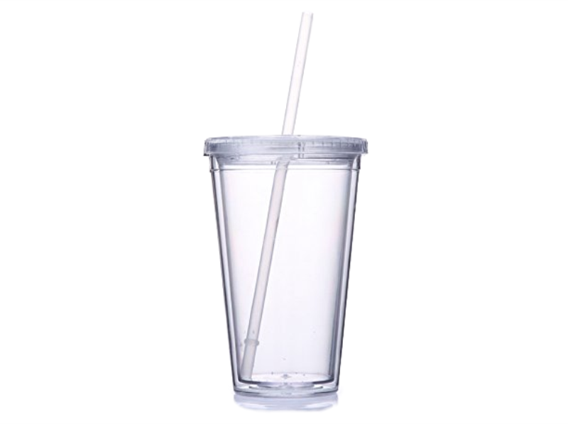 Personalized Insulated Tumbler with Lid and Straw