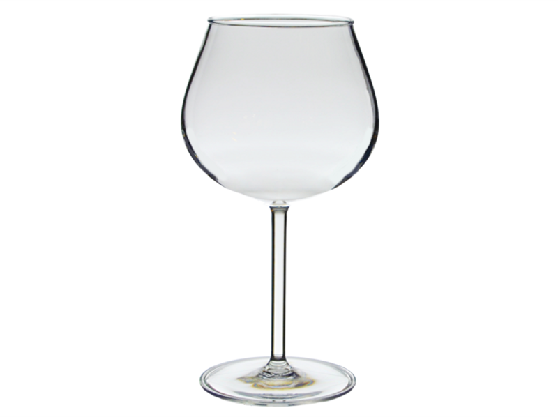 Personalized Acrylic 20 oz. Balloon Wine Glasses