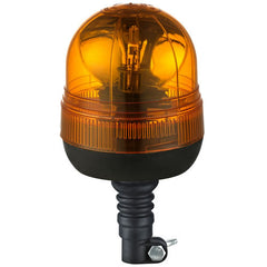 Flexible DIN Pole Mount Rotating Flashing Beacon