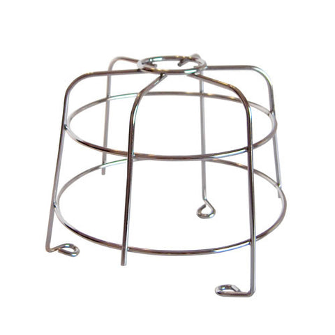 Low Profile Industrial Beacon Cage (Stainless Steel)