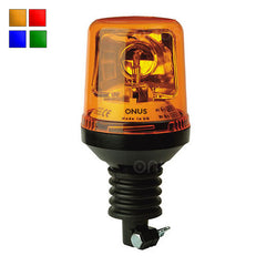 Onus Flexible DIN Pole Mount Rotating Flashing Beacon