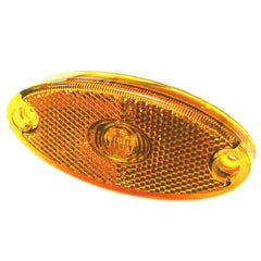Oval Surface Mounted LED Marker Lamp (Dual-voltage)