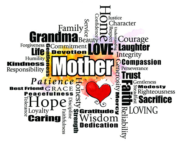 Mother Word Cloud (Grandma)