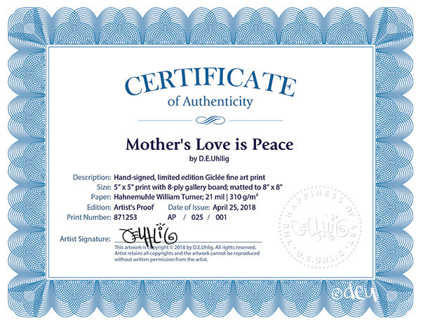 Mother's Love is Peace