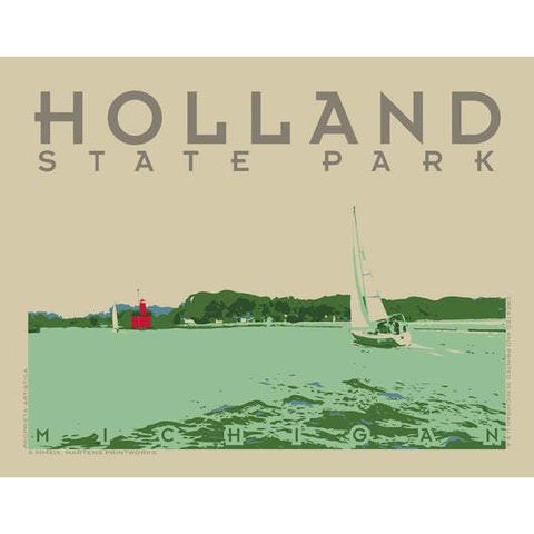 Holland State Park Print | 11x14