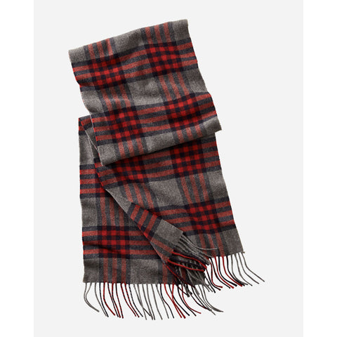 Whisperwool Muffler | Red Check