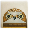 Motawi Owlet in Cream - 3x3