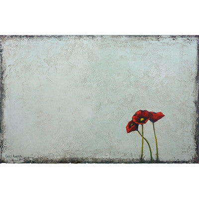 Three Poppies - Artisan's Bench