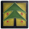 Motawi Christmas Tree in Green - 4x4