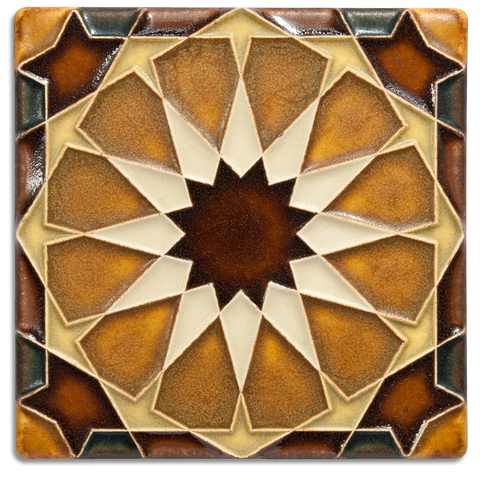 Motawi Alhambra in Brown - 4x4