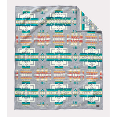 Chief Joseph Blanket | Grey