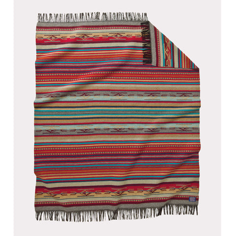 Chimayo Throw | Garnet