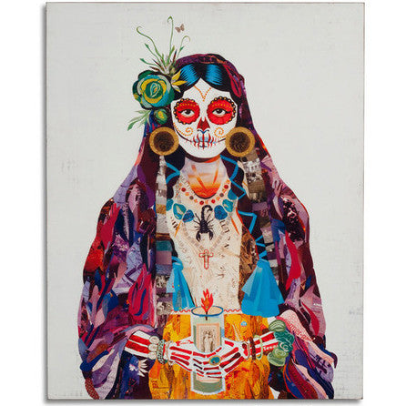 Señorita Day of the Dead Art Print - Artisan's Bench