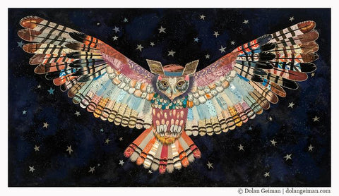 The Protector II Owl  | Archival Print