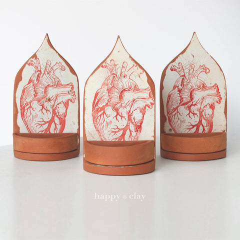Anatomical Heart Altar | Red