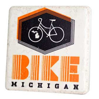 Bike Michigan Coaster - Artisan's Bench - 1