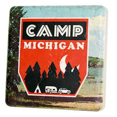 Camp Michigan Coaster - Artisan's Bench