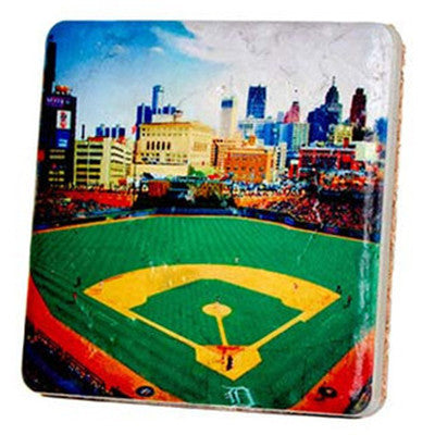 Comerica Park Stands Coaster - Artisan's Bench
