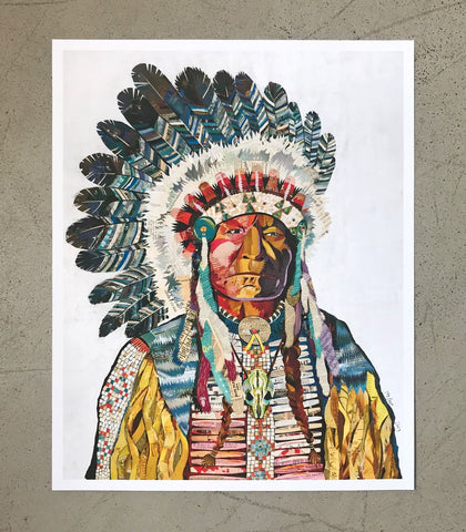 Chief | Archival Print