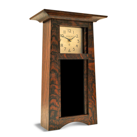 Vertical Craftsman Clock (4X8) - Artisan's Bench