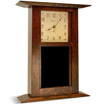 Arts and Crafts Clock (6X8) - Artisan's Bench