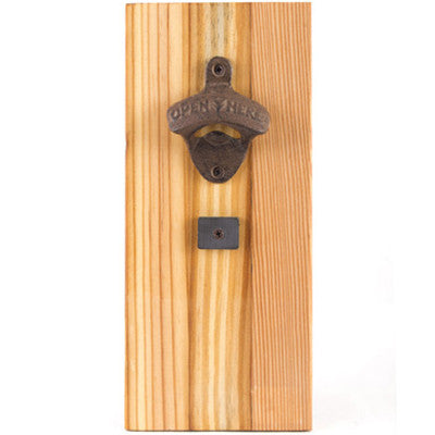 Wall Hanging Bottle Opener - Artisan's Bench - 1