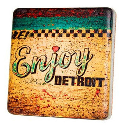 Enjoy Detroit Coaster - Artisan's Bench - 1