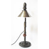 Edison Table Lamp with Silver Shade - Artisan's Bench - 2