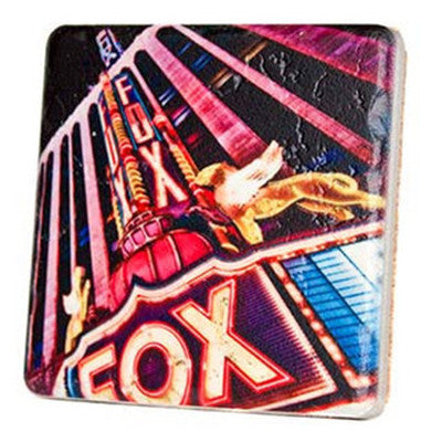 Fox Theatre Night Coaster - Artisan's Bench - 1