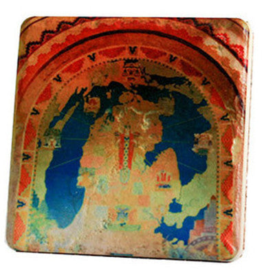 Guardian Mosaic Coaster - Artisan's Bench - 1
