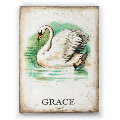 Graceful Swan SB01 (Retired) | Sid Dickens Memory Block