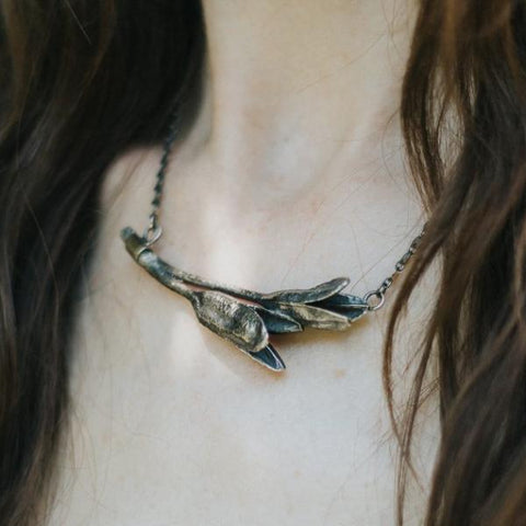 Daylily Pods Necklace