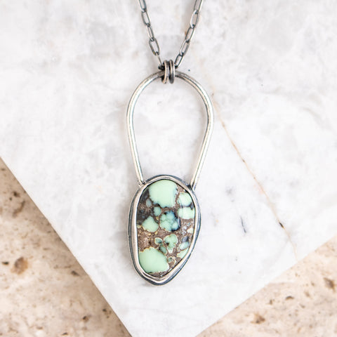 Prince Variscite Turquoise Necklace