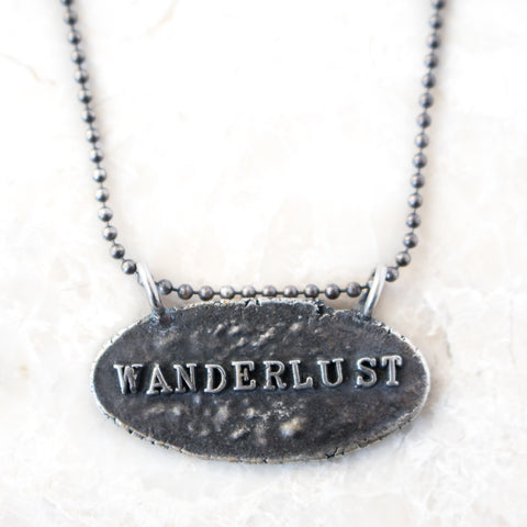 Wanderlust Silver Necklace