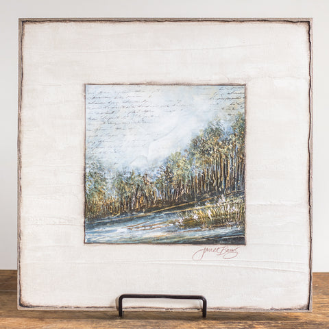 12x12 | Key Landscape | Blue