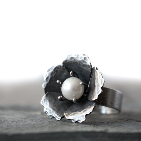 Lovely Freshwater Pearl Ring