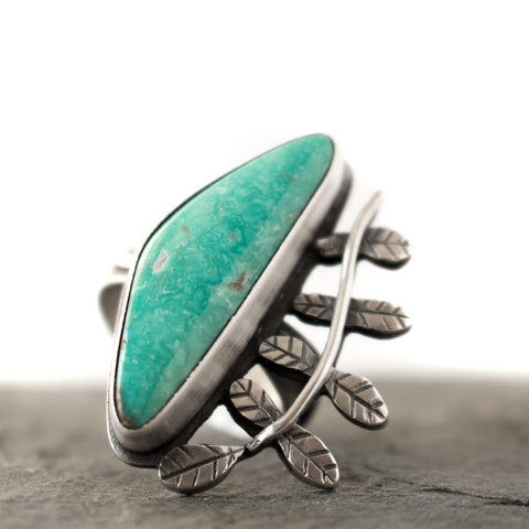 Grow Turquoise Ring Size 6.5