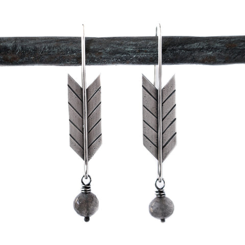 Brave Arrow Earrings