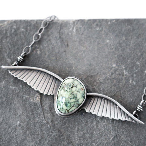 Wild & Free Variscite Necklace