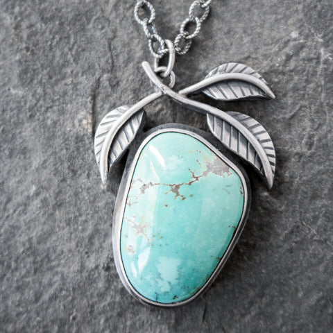 Embrace the Detours Turquoise Necklace