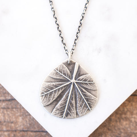 Cleome Teardrop Necklace