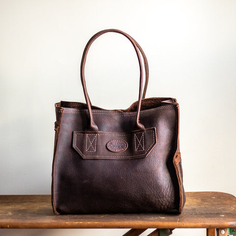 Medium Tote Bag | Dark Brown