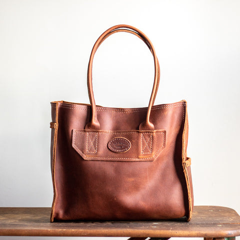 Medium Tote Bag | Saddle Brown
