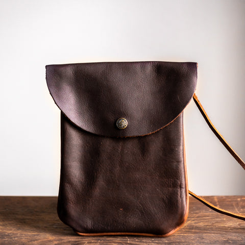 Victor Purse | Dark Brown