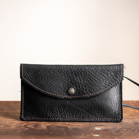 Envelope Clutch | Black