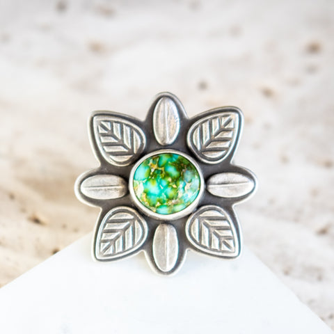 Size 6.75 | Sonoran Gold Mandala Ring